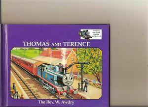 THOMAS TANK ENGINE - THOMAS AND TERENCE BOOK GROLIER 1994 REV W AWDRY