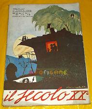 IL SECOLO XX 1922 n. 4 Filiberto Mateldi, Donati-Petteni, Carlo Veneziani