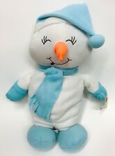 "NWT 16"" WIN STUFF Happy Holidays Christmas Snow Man Plush Toy Gift Ornaments"