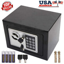 Large Digital Home Jewelry Cash Security Safe Box Anti-theft Electronic Steel