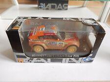 Solido Mitsubishi Pajero Evolution Dakar 2005 in Orange on 1:43 in Box