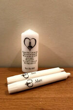 Personalised Wedding Unity Candle Jack  Sally Nightmare Before Christmas Gift