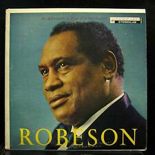PAUL ROBESON robeson LP Mint- VSD 2015 Vanguard Stereo Vinyl 1958 Record