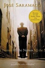 All the Names by José Saramago a hardcover book FREE SHIPPING jose