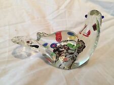 MURANO GLASS BIRD GENUINE VINTAGE PERFECT CONDITION
