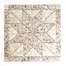 Mosaik Rosone Naturstein Sand Rosso beige rose Artikel 850/ST30