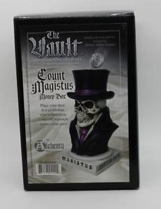 Graf Magistus Geldbox Alchemy Gothic Spardose Totenkopf The Vault