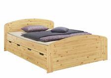 Doppelbett Seniorenbett 3 Bettkasten Federholzrahmen 140x200 Kiefer 60.50-14 FV