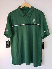 Nike NFL NY JETS Dri Fit On Field Apparel Sz 4XL Golf Polo Green CI3405-327 NWTs
