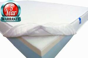 Coolmax Purpose-made Quilted Replacement Mattress Cover; zipped & washable