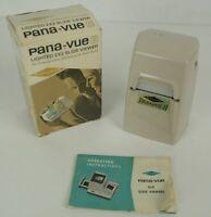 Sawyer Pana-vue 2 Lighted 2 x 2 Slide Viewer - 35mm - 828 Bantam - Super Slides