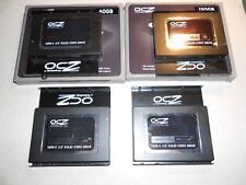 SSD - 4 Disques durs - OCZ VERTEX - SATA2 - 2x120 Go + 2x60 Go - TBE