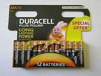 60x AAA Plus Power Alkaline Batterie Duracell AR2655