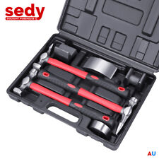 7-Piece Body Fender Tool Kit Dent Hammer Dolly Panel Beating Removal