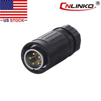 2 Pin M16 Size Power Circular Connector Female Plug /& Male Socket Outdoor IP67