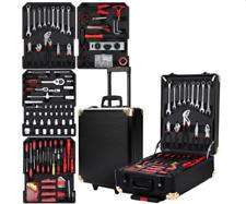 816pcs Tool Kit Trolley Case Mechanics Box Toolbox Portable DIY Set BK