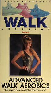 Advanced Walk Aerobics By Leslie Sansone/Tommelleo VHS 1989-VERY RARE-SHIP24HRS