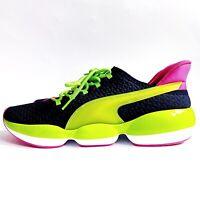 New Puma Mode XT Training Sneakers Green Pink Black Size 10 Womens 192815-01