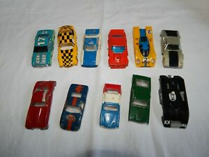 VINTAGE HO SLOT CAR BODIES ONLY > LOT OF 10 > FREE SHIPPING