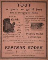 PUBLICITÉ DE PRESSE 1904 APPAREILS KODAK SE CHANGENT EN PLEIN JOUR - ADVERTISING
