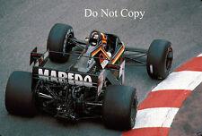 Stefan Bellof Tyrell 012 Monaco GP 1984 Photograph 2