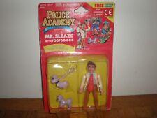 Police Academy Kenner Mr. Sleaze with FooFoo Dog TM & @1988 Warner Bros NEUF