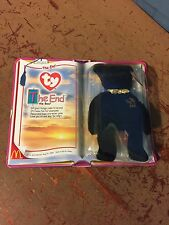"Retired 2000 Ty / McDonalds ""The End"" Teenie Beanie Baby New In Package!"