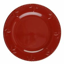 Sorrento Ruby Set of 4 Dinner Plates by Signature Housewares