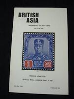 ROBSON LOWE AUCTION CATALOGUE 1973 BRITISH ASIA