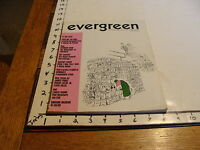Vintage Magazine: EVERGREEN REVIEW # 48 AUGUST 1967