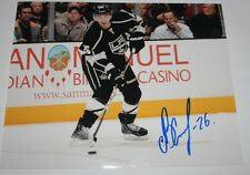 Slava Voynov signed Kings 8x10 photo COA
