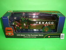 TEXACO 1935 DODGE PLATFORM DELIVERY TRUCK SPECIAL EDITION - 2002 - #19 in Series