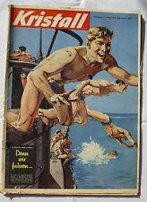 KRISTALL 1956 Nr. 8: U-Boot-Männer / Rasputin / Berliner Verbrecherbanden