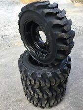 10-16.5 Galaxy Muddy Buddy Skid Steer Tires/black wheels/rims for Bobcat 10X16.5