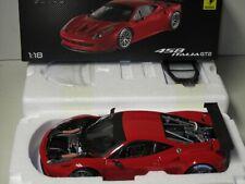 1/18 HOT WHEELS ELITE FERRARI 458 GT2 , RED , LAUNCH VERSION , NEW ,