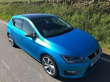 2014 SEAT LEON FR TECHNOLOGY 2.0 TDI 184 DSG AUTO 5 DOOR FINISHED IN ALOR BLUE