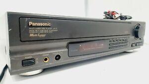 Panasonic LX-101U  Multi Laser Disc Player Mash EUC Jun 1991 ●F●Tested ●F●