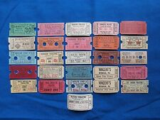 Vintage Movie & Drive-In Theatre Tickets  *** Make Your Own Lot  *** (Cinema)