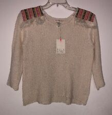 Billabong Women's Baja Beach Sweater Size S NWT