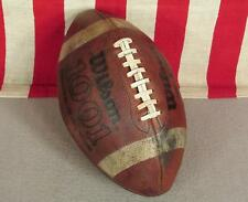 Vintage Wilson Leather Official Football w/Laces 1001 NFL Pattern Model Nice