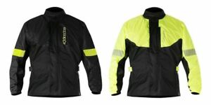 Alpinestars Hurricane 100% Waterproof Rain Jacket For Motorcycle Motorbike