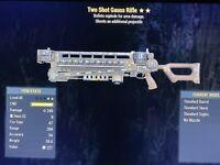 Two Shot Explosive Gauss Rifle Fallout 76 PS4