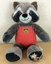 "Build-A-Bear Marvel ""Guardians of the Galaxy"" Rocket Raccoon 16"" Plush Toy"