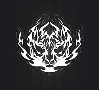 Autocollant sticker voiture moto macbook tuning tigre tiger tribale tribal r3