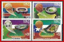 CHILE 1986 WORLD FOOTBALL (SOCCER) CUP in MEXICO SC#709 MNH
