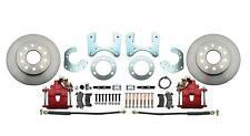 "Mopar 8 3/4"" Rear Disc Brake Conversion Kit  B-Body w/ Red Powder Coated Caliper"