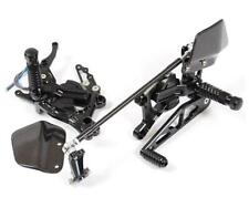 Honda CBR600RR 2007-2008 Gilles VCR Black Adjustable Rearsets Footrests