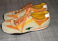 Kangaroos Ruby Original Shoes Tan Orange Green Women's Size 8.5 Free Ship