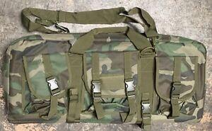 NcSTAR VISM 28 Inch Double Pistol & Subgun Padded Soft Gun Case Carry Bag CAMO