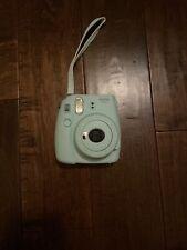 New listing Fujifilm Instax Mini 9 Ice Blue Instant Film Camera